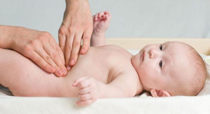 ефективний масаж від коліків