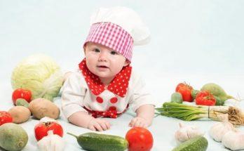 корисна їжа для дітей, правила харчування немовлят