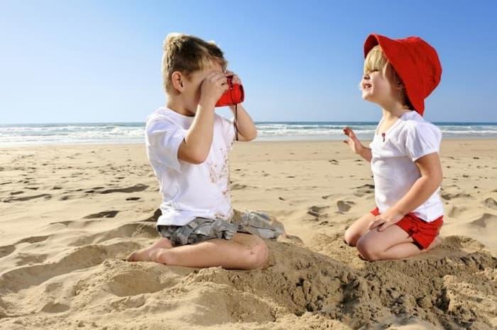 з дитиною на море малиною чи літкаом