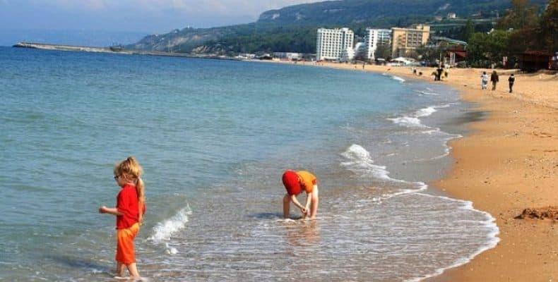 відпочинок в Болгарії на морі з дітьми