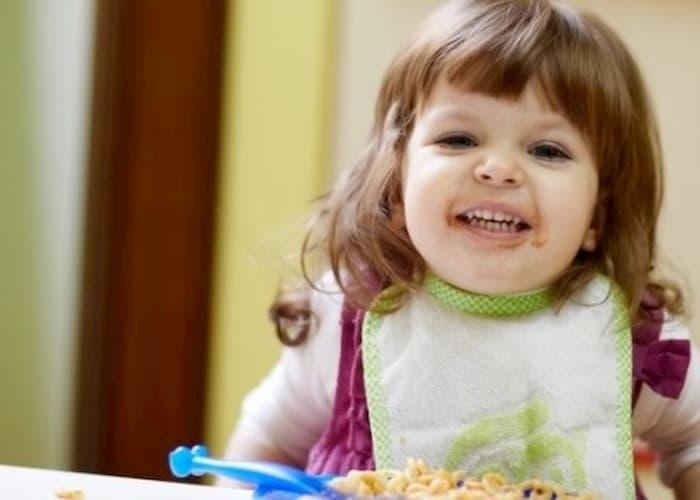 Правильне харчування дитини в роки